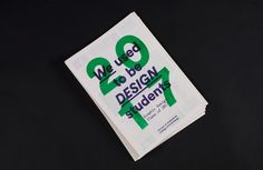A limited run of risograph printed booklets to showcase the fourth year graphic design class of DJCAD at our degree show. Thepublication gives a little snapshot of our graphic designclassas designers, in an instant yet quirky way.