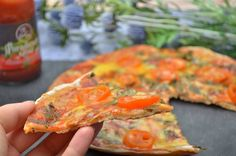 Serpenyős pizza - NAGYON JÓ Angkor, Ketchup, Salmon Burgers, Carrots, Pizza, Vegetables, Ethnic Recipes, Free, Carrot