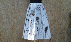 Skládaná sukně na míru