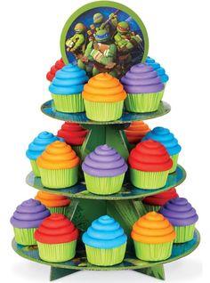 Teenage Mutant Ninja Turtles Cupcake Stand - Party City