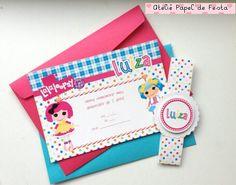 Convite em papel couchê 250g e impressão a laser <br> <br> <br>Tira para decoração do envelope inclusa <br>Tamanho 9,5x14,5 <br>A cor do envelope pode sofrer certa variação, consulte antes. <br> <br>Opções: Sem tira, e com adesivo redondo R$1,70 <br>Tag com nome do convidado <br>http://www.elo7.com.br/adicione-tag-para-nome-de-convidados/dp/5655CC <br> <br>Adicione lacinho: <br>http://www.elo7.com.br/adicione-lacinho/dp/5655BB <br> <br> <br>Junto com o convite, inclua adesivos para latinha…