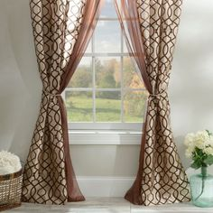 Charlize+Taupe+6-piece+Curtain+Panel+Set+|+Kirklands