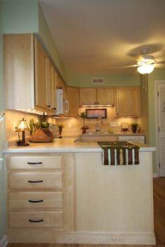 Kitchen Peninsula Ideas | Kitchen Remodel in Blacksburg Virginia | Blue Ridge Home Improvement