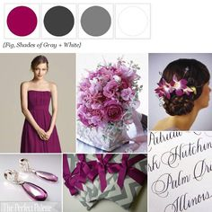 The Perfect Palette has named 'Fig' this Year's Color of the Year for Weddings!  http://www.theperfectpalette.com/2012/03/perfect-palettes-color-of-year-fabulous.html