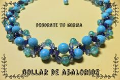 .Decorate tu misma.: Collar de abalorios paso a paso. Ideal para regalo...