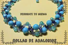 .Decorate tu misma.: Collar de abalorios paso a paso. Ideal para regalo...