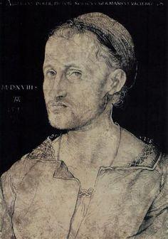 Hans the Elder Portrait Burgkmair - Alberto Durero