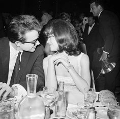 """Warren Beatty and Natalie Wood as she looked in his eye's she said """"you know what I want? I want yesterday."""""""