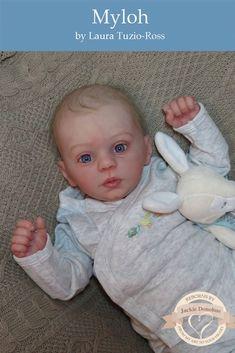 Myloh by Laura Tuzio Ross Reborn Baby Dolls Twins, Reborn Child, Reborn Doll Kits, Toddler Dolls, Vinyl Dolls, Baby Makes, Doll Parts, Creative Play, Boy Doll