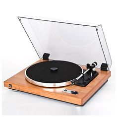 DUAL CS-460  Turntable Made in Germany High Quality Sound Wood Body