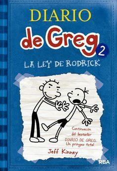 La ley de Rodrick es uno de los libros más divertidos de una colección llamada Diario de Greg donde Greg habla de sus aventuras que pasa en su segundo curso del instituto y también habla de las amenazas que le dice su hermano Rodrick que le dirá el secreto que tienen entre ellos si le molesta. Es uno de los libros más interesantes y divertidos que he leído.