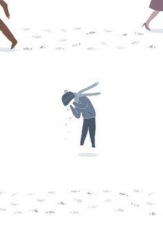 """Petjades a la neu"" by Gemma and Romina Martí O'Toole Marti, Movies, Movie Posters, Illustrations, Films, Film Poster, Illustration, Cinema, Movie"