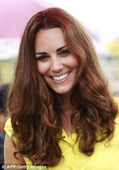 Kate Middleton Closer photos, so what? Duchess of Cambridge giggles as she greets topless women Duchess Kate, Duke And Duchess, Duchess Of Cambridge, Prince William And Kate, William Kate, Holiday Hairstyles, Celebrity Hairstyles, Kate Middleton Closer, Before Wedding