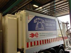 Elektrische vuilnisauto van amsterdam door traxx via zoeller