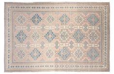 "7'10""x12"" Turkish Hand-Knotted Rug Pink/Blue, F.J. Kashanian, OKL"