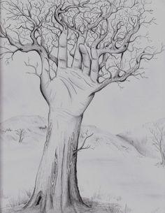 Hand Tree by ~AmayaKumikai on deviantART