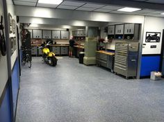 Man cave garage interior design ideas - North American Motoring