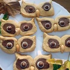 Peanut butter Owl Cookies
