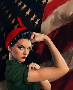 army wife poster reinterpretation of the power poster we woman are strong and loving beens : Watercolor Artwork, Painting Art, American Flag, Snow White, My Arts, Army, Feminine, Strong, Photo And Video