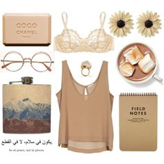 brown mountain by spilled-acid on Polyvore