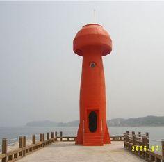Mushroom Lighthouse, S. Korea