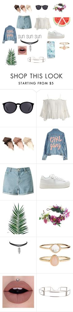 """""""sorry not sorry"""" by curious-girl-101 on Polyvore featuring Yves Saint Laurent, Sans Souci, Urban Decay, High Heels Suicide, Miss Selfridge, Nika, Rock 'N Rose, Accessorize, CÉLINE and Casetify"""