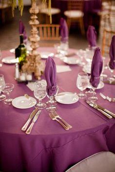 Purple Amp White Wedding Reception Decor Heather DeCamp Photography Kehoe Designs