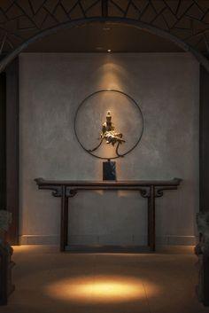 Eventueel een grappige bewerking van dit beeld. bv. dat hij een cocktail vasthoudt David Yeo + SAY Architects | Hutong