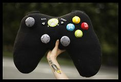 xbox controller cushion - black version.   I like the look of the buttons on this one!