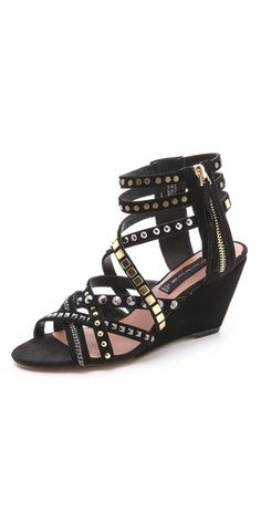 Steven Soulfil Studded Zip Sandals | SHOPBOP | Use Code: SALE25 for 25% Off Sale Items