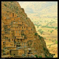 Palangan village in Iranian Kurdistan
