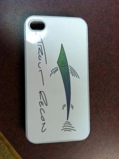 Personalized business logo on an iphone case, possibilities are just about endless!!@trout_recon Sublimation | Central Oregon Trophies and Engraving, LLC