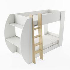 Łóżko piętrowe JERRY z biurkiem i pojemnikiem na pościel / JERRY bunk bed with desk and bedding container #lozkopietrowe #bunkbed #jerry #meble #furniture #kidsroom #pokojdziecka #dignetlenart #dignet #desk #biurko #pojemniknaposciel #beddingcontainer  #novelty #newarrival #nowosc