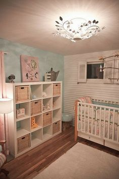 A Cute Little Nursery. When I Have A Child, I Want A Designer Like This!