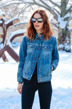 Jean jacket | Prosecco & Plaid, March 2015