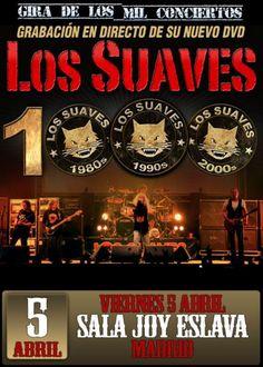 Los Suaves - Gira de los 1000 conciertos (Madrid - Abril 2013)