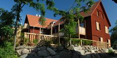 Ostsee- Apfelgarten Usedom - 2 Häuser mit insgesamz 6 Wohnungen für je 4 Pers, jede Whg mit eigener Sauna