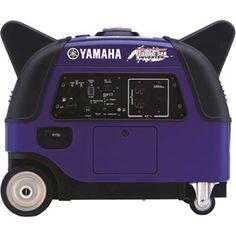 Yamaha EF3000iSEB Portable Inverter Generator, 3000 Watt + 500W Boost Technology 171cc OHV Gas CARB