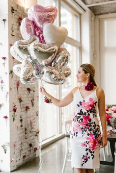 Valentine's Day bridal shower: http://www.stylemepretty.com/living/2017/02/06/inspiration-for-a-heart-filled-valentines-bash-with-your-besties/ Photography: Lindsay Hackney - http://www.lindsayhackney.com/
