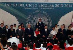 Dan en Morelos Banderazo a ciclo escolar