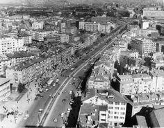 Gokdelenden Sıhhıye yönüne bakış 1968 veya 1969 yılı.