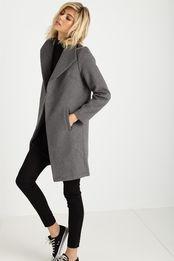 melton shawl jacket
