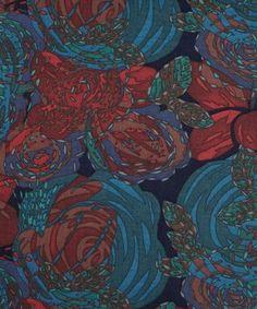 Rainbow Rose B Tana Lawn Cotton