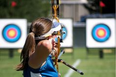 15 Olympic-Inspired Exercises to Try Today: Archery! (my fave!!!)