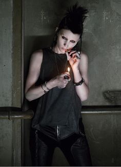 Lisbeth Salander from Girl With the Dragon Tattoo