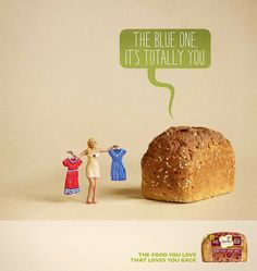 Print campaign in the UK for Genius Gluten Free. I was approached by Adam & Eve/DDB who wanted to utilise my 'Toy Stories' format. Best Gluten Free Bread, Bbc Good Food Recipes, Graphic Design Projects, Poster, Campaign, Love You, Place Card Holders, The Incredibles, Art