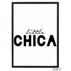 Poster | Little chica