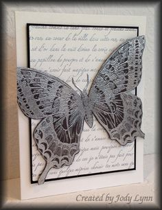 CC459 Black Swallowtail by jodylb - Cards and Paper Crafts at Splitcoaststampers