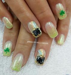 St Patrick's day Nails
