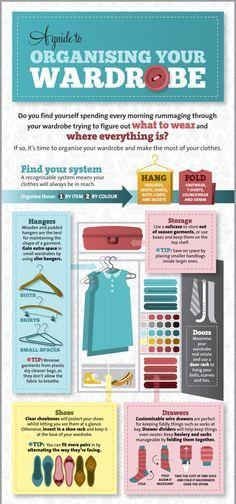 Organizing your wardrobe